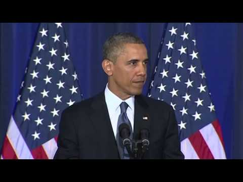 barack - Barack Obama: 'drone strikes have saved lives' Subscribe to the Guardian HERE: http://bitly.com/UvkFpD The US president defends his country's use of unmanned...