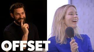 Video The one question Emily Blunt's always wanted to ask John Krasinski MP3, 3GP, MP4, WEBM, AVI, FLV Juni 2018