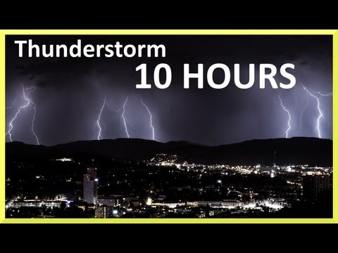 thunder storm - Rain and thunder sounds compilation. 24 different storms around the country. Relaxing rain to sleep and severe rainstorm to listen thunderstorm sounds, all i...