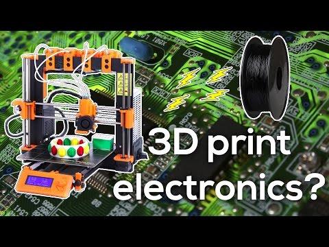 Conductive filament - Can you 3D print electronics?