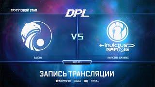 Taichi vs Invictus Gaming, DPL Season 8 Top League, bo2, game 2 [Adekvat]