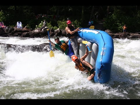 Travel River Rafting Video