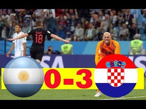 ARGENTINA VS Croatia 0-3 All GOALS & HIGHLIGHT WORLD CUP HD 🔥🔥🔥