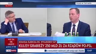 Kurski zaorany w TVP info na żywo!