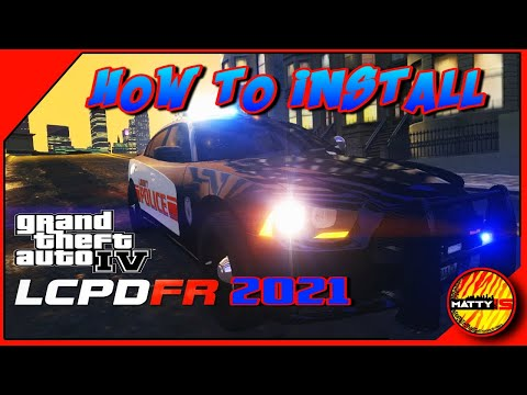 How To Install LCPDFR 2021| Part 1 of 2 | GTA IV