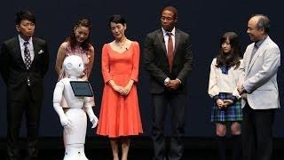 【芸能人をオーディションで審査!?】感情を認識するロボットの実力は?(ソフトバンク「pepper」発表会)