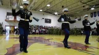 JROTC Marine Corp Drill Team