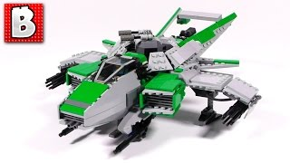 Lego Star Citizen F7A Hornet Custom Build! With LevelCap | Building Time Lapse Review