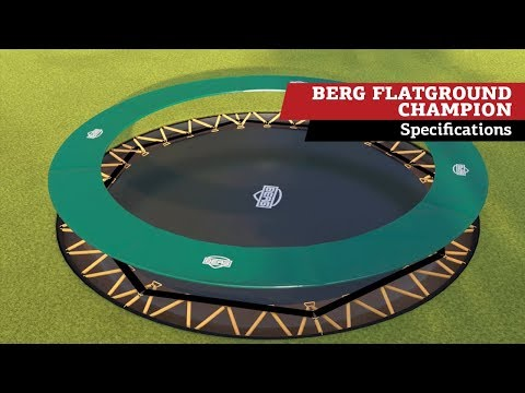 BERG Flatground Champion 380 | Trampolinespecificaties