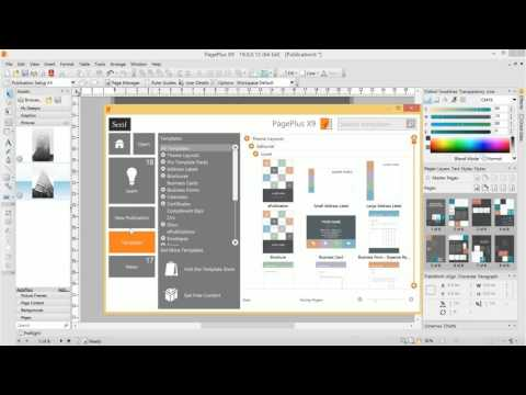 Serif PagePlus X9 - Quick Start