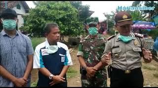 GABUNGAN POLRI,TNI DAN PEMERINTAH KAB-TUBABA MEMBUBARKAN ACARA RESEPSI