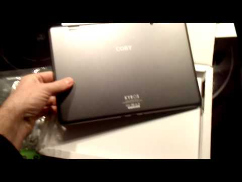 Coby Kyros MID1060 unboxing MID1060-8