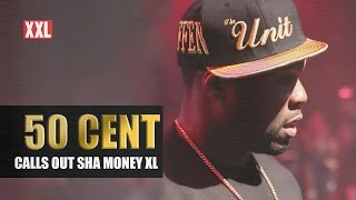 50 Cent Calls Out Sha Money XL At The 2015  XXL Freshman Show