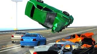 BeamNG DRIVE Crash Testing : Jargl Trysil (Max Payne 3) Mod