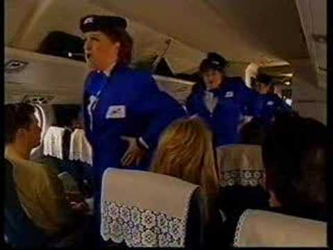 Yorkshire Airlines spoof advert