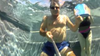 Bubbles Underwater in Temecula pool Caught on Video with GoPro