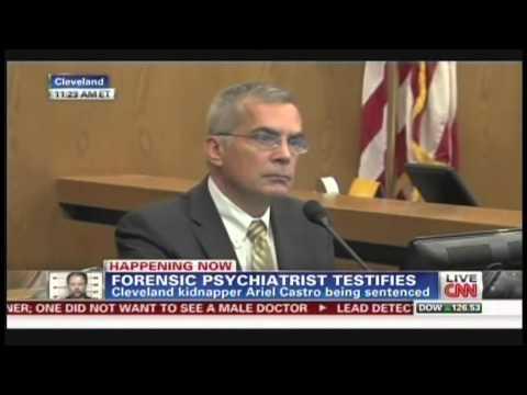 Forensic Psychiatrist Dr. Gregory Saathoff at Ariel Castro sentencing (August 1, 2013, 11:16 AM)