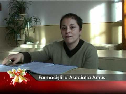 Farmacişti la Asociaţia Amus