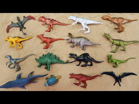 16 Dinosaurs - Mini Action Dino Transformer Real Jurassic Dinos