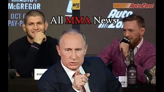 Video UFC 229 - Khabib Nurmagomedov - Conor McGregor - Vladimir Putin MP3, 3GP, MP4, WEBM, AVI, FLV November 2018