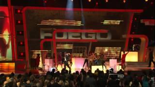 Fuego Y Omega,HD , En Vivo Premios Lo Nuestro,HD