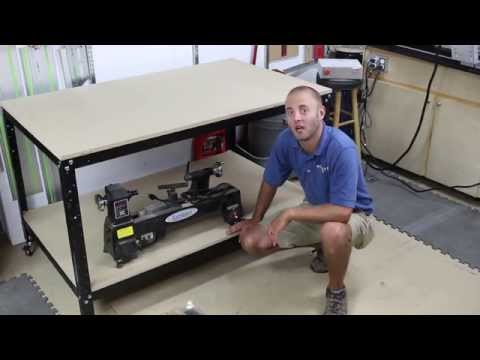 Rockler Customizable Shop Stand: Assembly