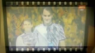 29/01/2017 una muestra de que el deporte aún tiene espacio para la caballerosidad. Grandes Roger Federer y Rafa Nadal.