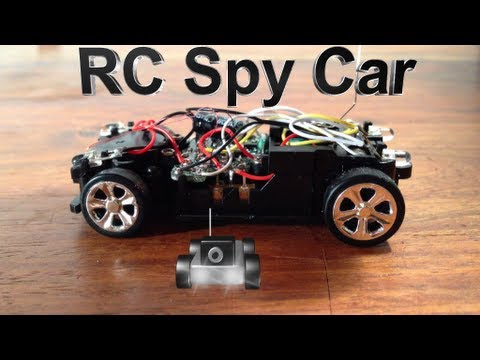 How To Make A Rc Car With Wireless Camera With Pictures Videos