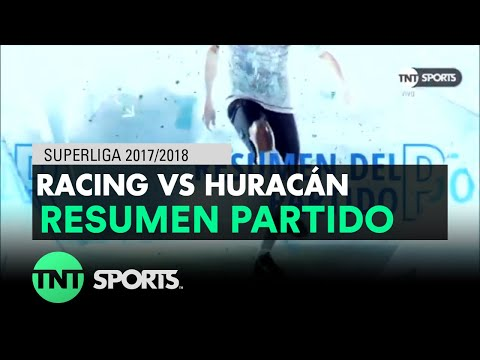 Racing 4-0 Huracán. Superliga Argentina - Fecha 14