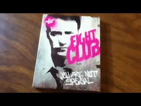 Fight Club Blu-ray Unboxing