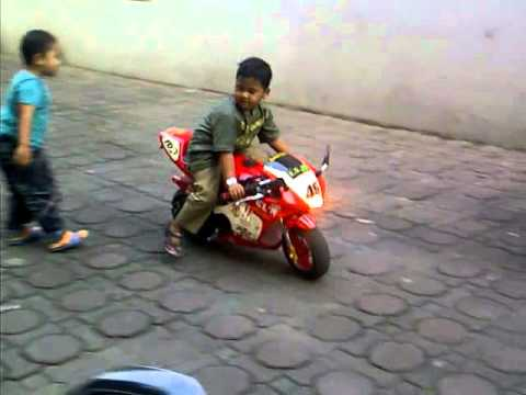 Motor Mini Gp50cc, Reihan Cah Sengon Brebes