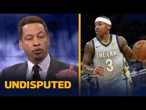 Chris Broussard compares Isaiah Thomas' Cavs fit to Allen Iverson's Pistons fit | UNDISPUTED