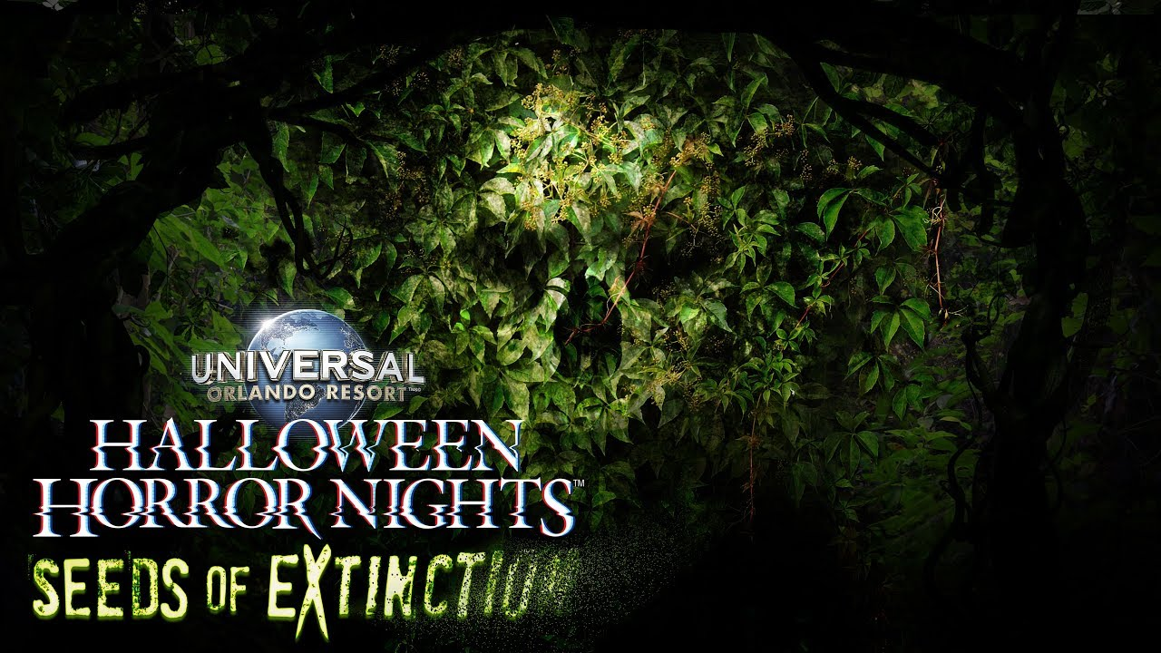 Seeds of Extinction | Halloween Horror Nights 2018