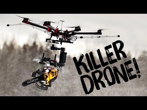 Finnish Guys Build ChainsawWielding Killer Drone