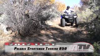 6. Test Polaris Sportsman  Touring 850 XP 2012  .mp4
