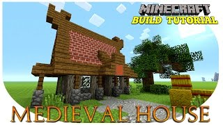 Minecraft: How To Build A Small Survival House Tutorial (Cool House ) (Medieval House)