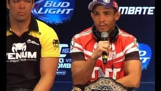 UFC 163: Pre-fight Press Conference