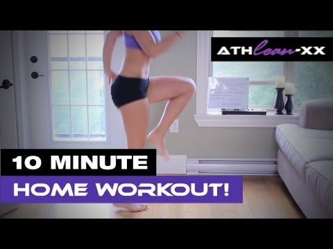 10 Minute HOME Workout for Women – NO Equipment Needed!