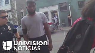 Video muestra a un par de policías y su abuso de poder contra una joven