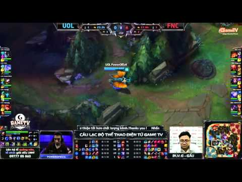 LCS EU 2015 mùa hè (W1D1) - FNATIC vs UNICORN OF LOVE - 29/05/2015