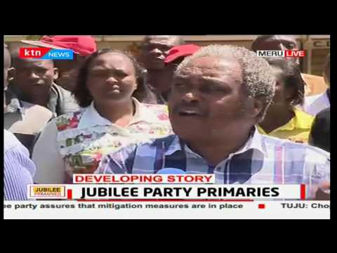Furious Incumbent Meru Mp says the elections have been rigged with the help of trained officers