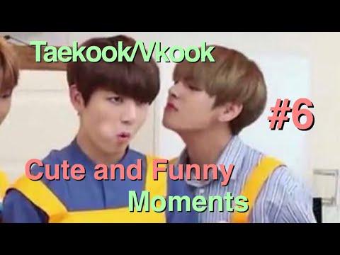 Video Taekook/Vkook cute and funny moments #6 || taekooksjams download in MP3, 3GP, MP4, WEBM, AVI, FLV January 2017
