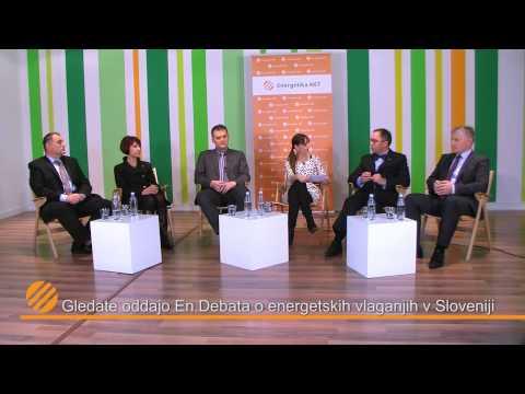 En.debata o energetskih vlaganjih v Sloveniji