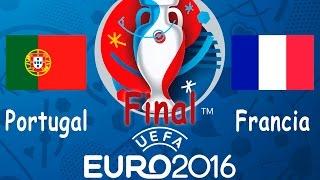Muy buenas TecnoOcios!Como no podía ser de otra manera TecnoOcioTV vuelve al campopara jugar los encuentros mas interesantes de la Euro Copa 2016 de Francia.Las Selecciones Internacionales se enfrentan en nuestros ya conocidos gameplays entre los amigos de siempre.Y llegamos a la inesperada Final entre Portugal y la anfitriona Francia, y como no podia ser de otra manera un final inesperado, no te lo pierdas.Los 2 vs 2 y los 1vs 1 serán los protagonistas en toda la Euro!Aprovechamos como siempre para mandar un saludo muy especial y agradecimientos a nuestros amigos.Juan Carlos (Juancar), Victor (El Gallego), Esteban (Steve), Marcos (Yodel), Dani (Fernanda) y Guille (Guilladas). Gracias chicos!Dejamos las redes sociales disponibleshttps://www.facebook.com/Tecnoociotvhttps://twitter.com/TecnoOcioTVUn saludo TecnoOcios y feliz Verano!