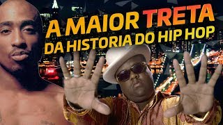 🔥 ENTENDA A MAIOR TRETA DO RAP GRINGO - TUPAC vs NOTORIOUS BIG