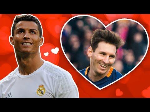 So «schwärmt» Cristiano Ronaldo von Lionel Messi