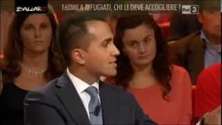 Luigi Di Maio: Ballarò - COME TAGLIARE LE TASSE