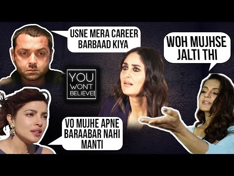Priyanka Chopra, John Abraham, Dia Mirza | Stars Who HATE Kareena Kapoor | You Won't Believe