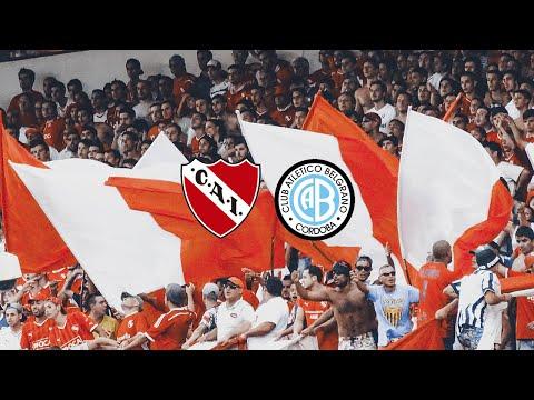 Independiente 1 - Belgrano 0 | compilado de la hinchada - La Barra del Rojo - Independiente
