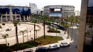 Annakhil Morocco  City new picture : Timelapse (Annakhil Avenue, Rabat) Morocco